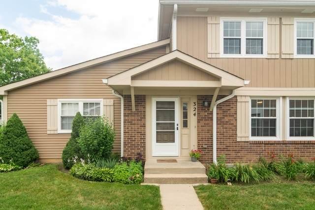 324 Cherrywood Court 51B, Vernon Hills, IL 60061 (MLS #10795234) :: Angela Walker Homes Real Estate Group