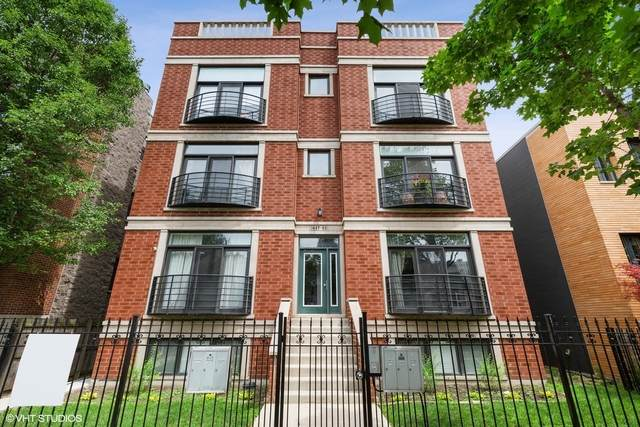 1823 N Fairfield Avenue 2S, Chicago, IL 60647 (MLS #10795313) :: Property Consultants Realty