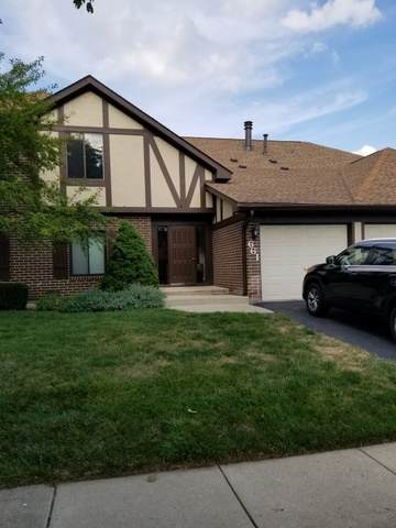 661 Cross Creek Drive C, Roselle, IL 60172 (MLS #10796093) :: Angela Walker Homes Real Estate Group