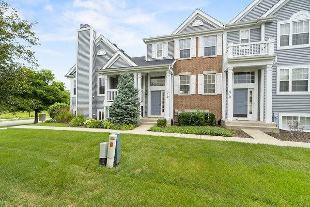 512 Lincoln Station Drive #512, Oswego, IL 60543 (MLS #10798609) :: John Lyons Real Estate