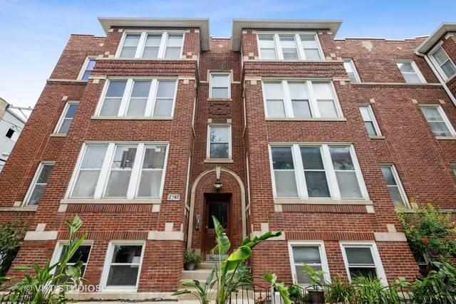 2942 W Belle Plaine Avenue 1W, Chicago, IL 60618 (MLS #10799086) :: John Lyons Real Estate