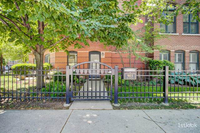 903 W 14th Place, Chicago, IL 60608 (MLS #10799964) :: Angela Walker Homes Real Estate Group