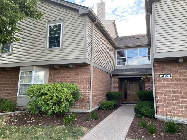 100 White Oak Court #4, Schaumburg, IL 60195 (MLS #10800563) :: Angela Walker Homes Real Estate Group
