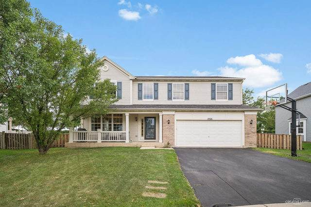 1866 Cambridge Lane, Montgomery, IL 60538 (MLS #10800958) :: Angela Walker Homes Real Estate Group