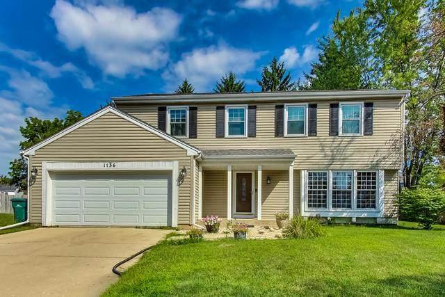 1136 Brandywyn Court, Buffalo Grove, IL 60089 (MLS #10802431) :: John Lyons Real Estate