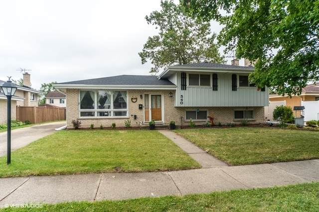 540 Arlene Drive, Wood Dale, IL 60191 (MLS #10802786) :: Angela Walker Homes Real Estate Group