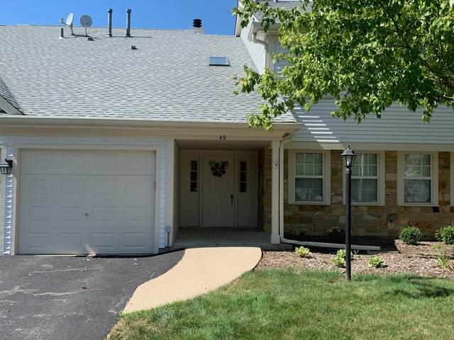 49 Amber Court X1, Schaumburg, IL 60193 (MLS #10803562) :: John Lyons Real Estate