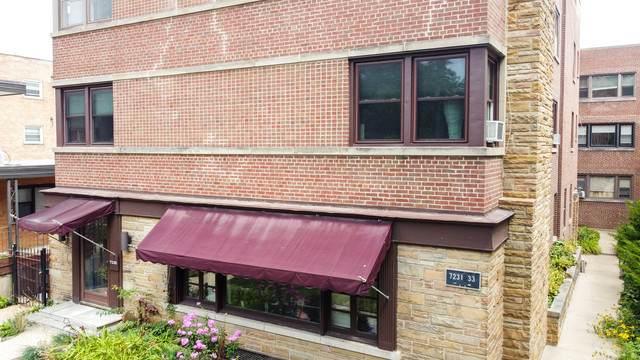 7231 N Ridge Boulevard 3E, Chicago, IL 60645 (MLS #10804053) :: John Lyons Real Estate