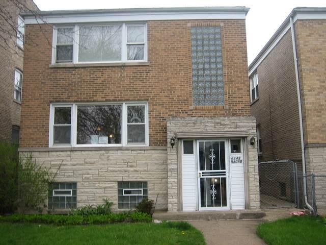 6143 N Claremont Avenue, Chicago, IL 60659 (MLS #10804620) :: Angela Walker Homes Real Estate Group