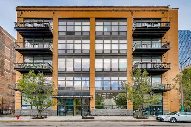 23 N Green Street #401, Chicago, IL 60607 (MLS #10805013) :: Touchstone Group