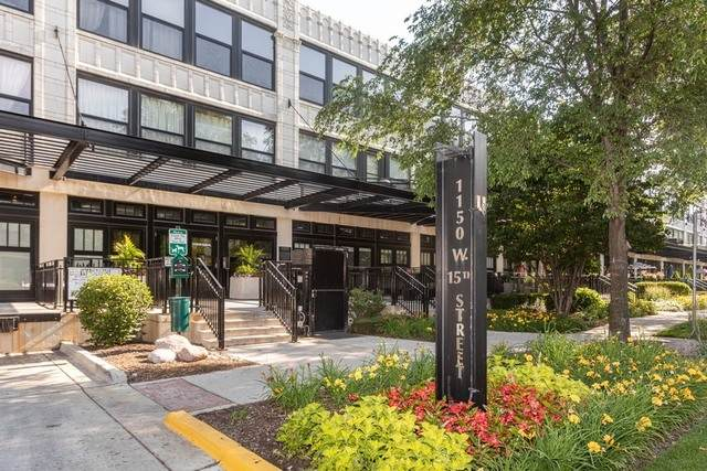 1110 W 15th Street #332, Chicago, IL 60608 (MLS #10806182) :: BN Homes Group