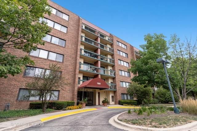 1800 Huntington Boulevard #205, Hoffman Estates, IL 60169 (MLS #10806411) :: John Lyons Real Estate