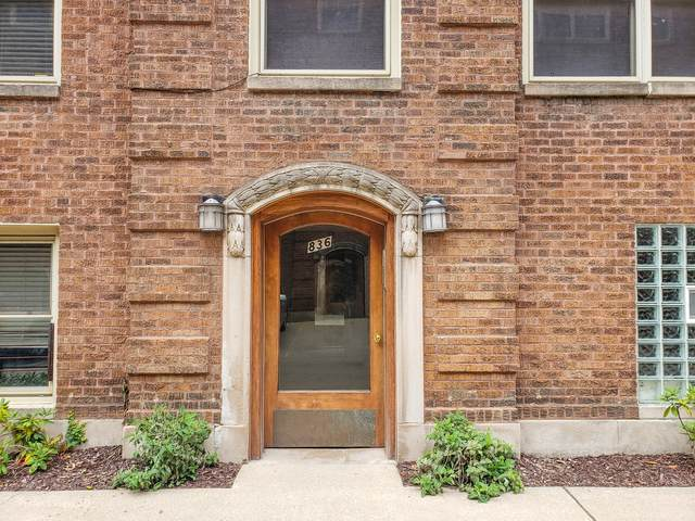 836 W Agatite Avenue 1S, Chicago, IL 60640 (MLS #10806671) :: Angela Walker Homes Real Estate Group