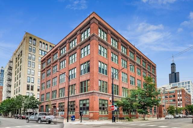 331 S Peoria Street #501, Chicago, IL 60607 (MLS #10807644) :: The Wexler Group at Keller Williams Preferred Realty