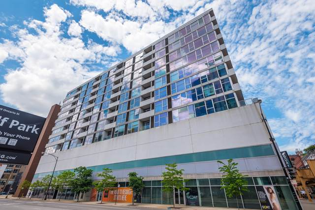 630 N Franklin Street #911, Chicago, IL 60654 (MLS #10807966) :: Property Consultants Realty