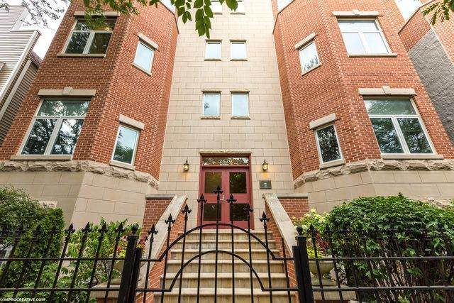 2629 N Ashland Avenue 3A, Chicago, IL 60614 (MLS #10807980) :: Property Consultants Realty