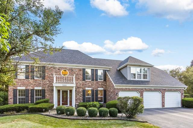 500 Prairie Knoll Drive, Naperville, IL 60565 (MLS #10808138) :: John Lyons Real Estate