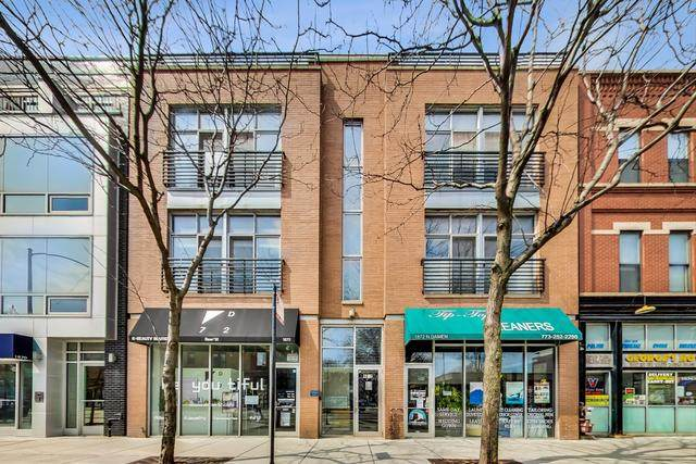 1872 N Damen Avenue 3S, Chicago, IL 60647 (MLS #10808345) :: Property Consultants Realty