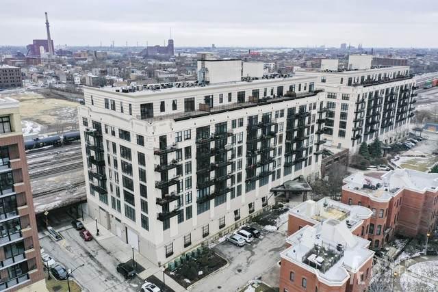 1525 S Sangamon Street #807, Chicago, IL 60608 (MLS #10808691) :: John Lyons Real Estate