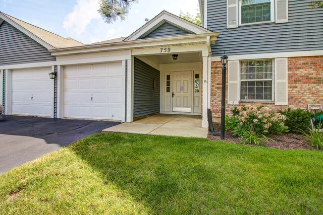 759 Sterling Court A-1, Bartlett, IL 60103 (MLS #10808708) :: Angela Walker Homes Real Estate Group