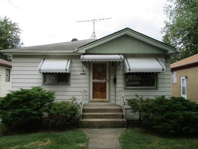 14443 Des Plaines Street, Harvey, IL 60426 (MLS #10810783) :: John Lyons Real Estate