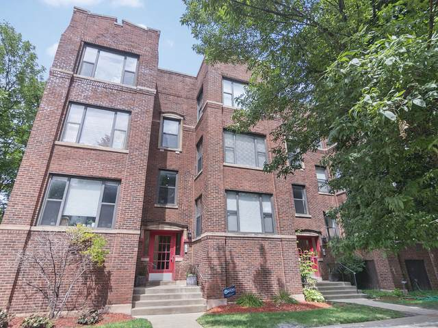 2458 W Eastwood Avenue #3, Chicago, IL 60625 (MLS #10811079) :: Angela Walker Homes Real Estate Group