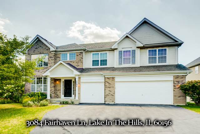 3084 Fairhaven Lane, Lake In The Hills, IL 60156 (MLS #10811416) :: Touchstone Group