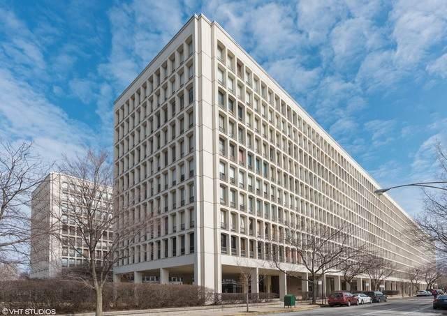1400 E 55th Place 1015S, Chicago, IL 60637 (MLS #10812187) :: John Lyons Real Estate