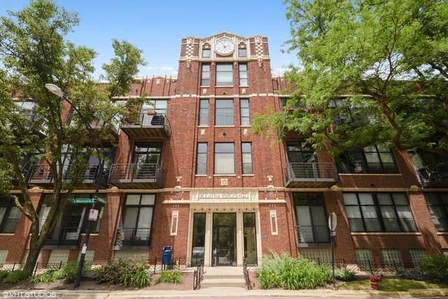 2300 W Wabansia Avenue #210, Chicago, IL 60647 (MLS #10812490) :: John Lyons Real Estate