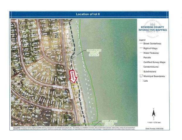 Lot 8 Lakeshore Drive, Pleasant Prairie, WI 53158 (MLS #10812593) :: Janet Jurich