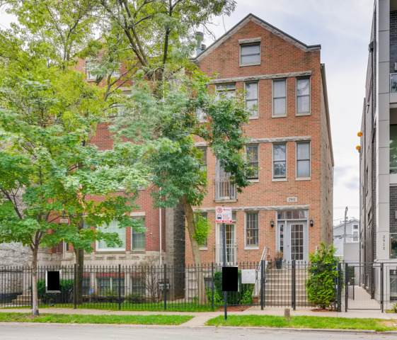 2910 N Damen Avenue #1, Chicago, IL 60618 (MLS #10812665) :: John Lyons Real Estate