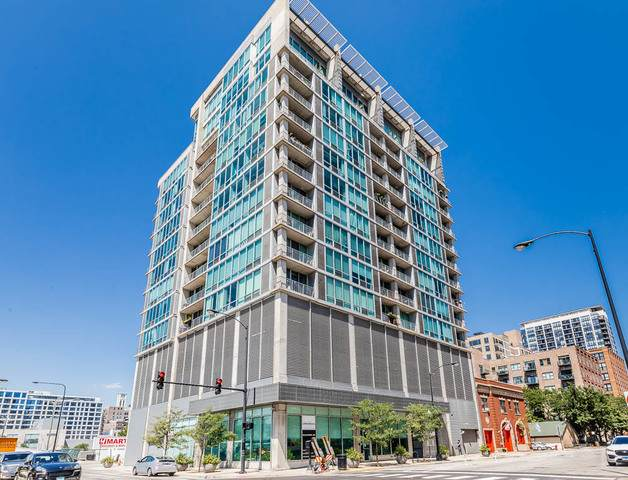 700 W Van Buren Street #801, Chicago, IL 60607 (MLS #10813966) :: John Lyons Real Estate
