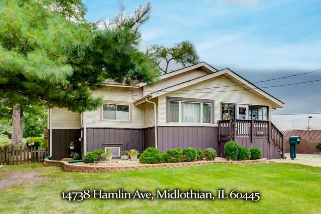 14738 Hamlin Avenue, Midlothian, IL 60445 (MLS #10814179) :: John Lyons Real Estate