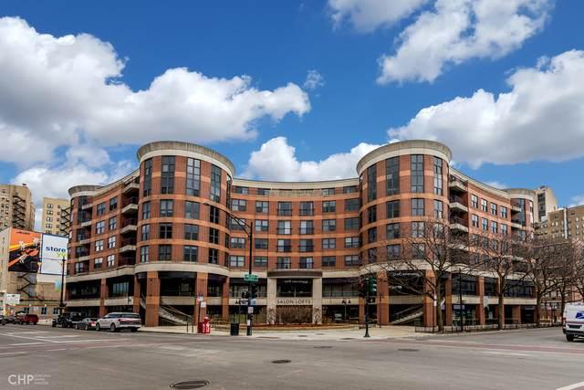 350 W Belden Avenue #508, Chicago, IL 60614 (MLS #10814342) :: The Spaniak Team