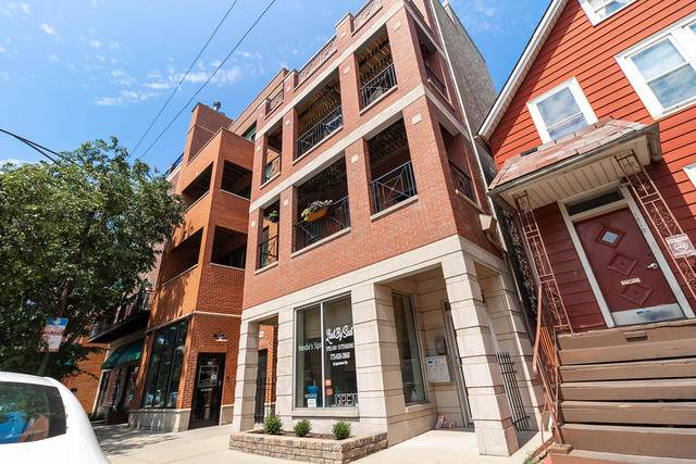 1814 W Belmont Avenue #2, Chicago, IL 60657 (MLS #10814386) :: Angela Walker Homes Real Estate Group