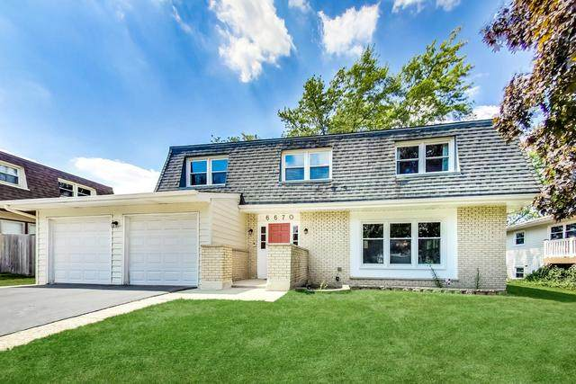 6670 Saratoga Avenue, Downers Grove, IL 60516 (MLS #10815293) :: The Wexler Group at Keller Williams Preferred Realty
