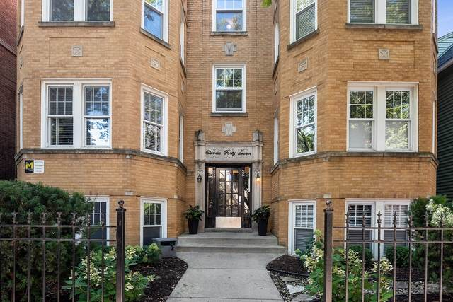1147 W Lill Avenue 3W, Chicago, IL 60614 (MLS #10815780) :: The Wexler Group at Keller Williams Preferred Realty