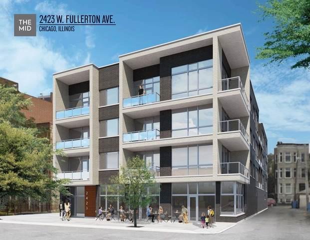 2423 W Fullerton Avenue 2C, Chicago, IL 60647 (MLS #10815828) :: Angela Walker Homes Real Estate Group