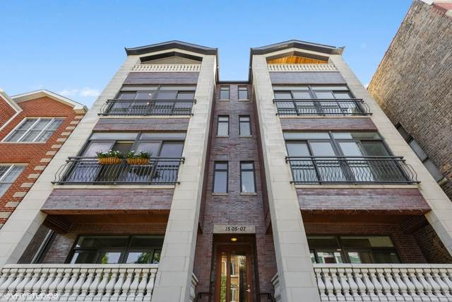 1505 W Cortez Street #301, Chicago, IL 60642 (MLS #10815928) :: Angela Walker Homes Real Estate Group
