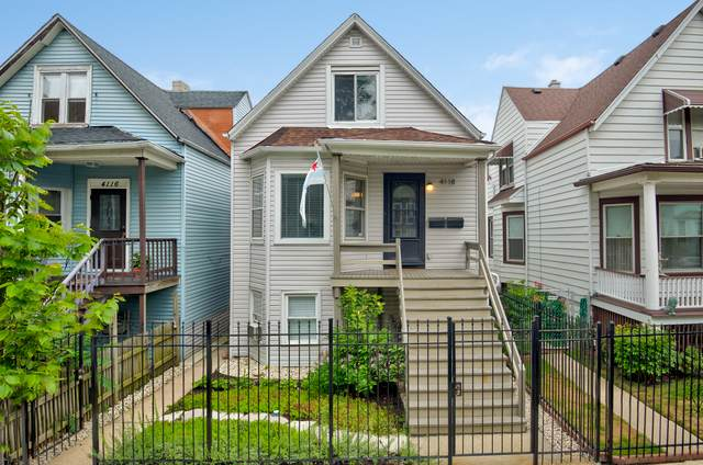 4118 N Kedzie Avenue, Chicago, IL 60618 (MLS #10815929) :: Angela Walker Homes Real Estate Group