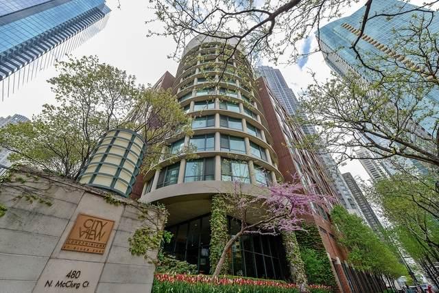 480 N Mcclurg Court 609N, Chicago, IL 60611 (MLS #10816160) :: John Lyons Real Estate
