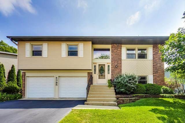 4385 Rock Cove Drive, Hoffman Estates, IL 60192 (MLS #10817280) :: John Lyons Real Estate