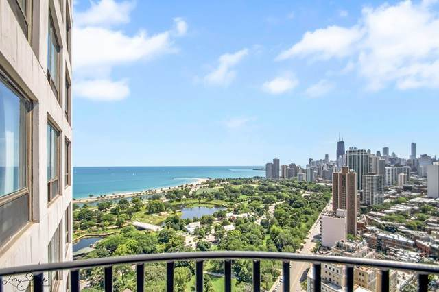 2020 N Lincoln Park West 33H, Chicago, IL 60614 (MLS #10818496) :: John Lyons Real Estate
