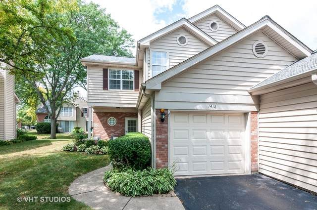 1418 Fairway Drive #1418, Glendale Heights, IL 60139 (MLS #10821636) :: Littlefield Group