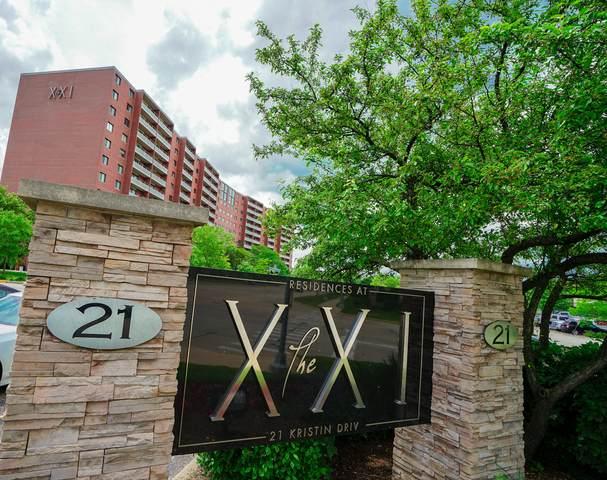 21 Kristin Drive #120, Schaumburg, IL 60195 (MLS #10821655) :: Littlefield Group
