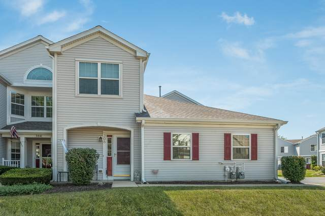 306 Cascade Lane #306, Oswego, IL 60543 (MLS #10822148) :: John Lyons Real Estate