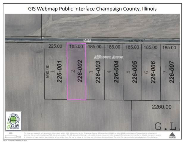 LOT 2 600N Road, TOLONO, IL 61880 (MLS #10823303) :: Littlefield Group