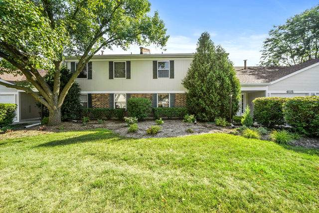 613 N Deer Run Drive B12, Palatine, IL 60067 (MLS #10825247) :: John Lyons Real Estate