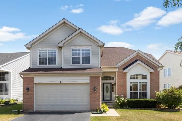 21 Clover Circle, Streamwood, IL 60107 (MLS #10827516) :: John Lyons Real Estate