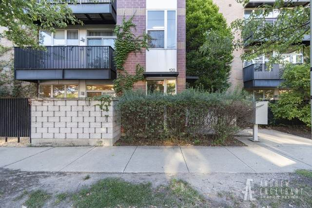 120 N Leavitt Street #102, Chicago, IL 60612 (MLS #10827600) :: The Wexler Group at Keller Williams Preferred Realty
